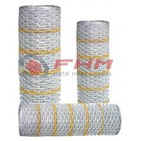 Buy cheap Professinal Supplier of Hexagonal Stucco netting Paperback netting with 20 gauge from wholesalers