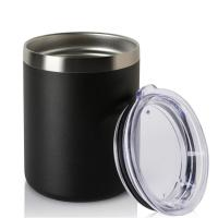 China Double Wall  Stainless Steel Tumbler Thermal Travel Mug With Lid on sale