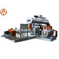 Buy cheap Sinking Floating Fish Feed Pellet Making Machine With 155mm Screw Easy Operation from wholesalers