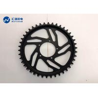 China Black Anodized Bicycle Gear Parts ±0.01mm High Yield Strength Wear Resistant on sale