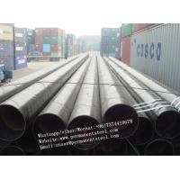 China SSAW/SAWL API 5L spiral welded carbon steel pipe natural gas and oil pipeline/carbon steel seamless tube/Welded pipe on sale