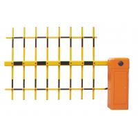 3 Fence Arm Parking Flap Gate Barrier Rushless DC Motor With Wireless Remote Control Manufactures