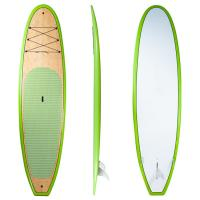 China 10'6 All Round Stand up Paddle Boards Top Quality Bamboo SUP Boards on sale