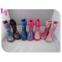 China factory cheap kids rubber rain boots on sale
