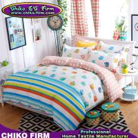 China Little Apples Design Soft Bedding Duvet Covers Pillowcases Bed Sheets on sale