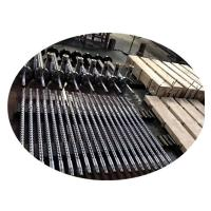 China High Efficiency Bimetallic Single Screw Design For Granulating Production Line on sale