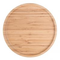 Hot sale bamboo wood food serving tray plate Manufactures