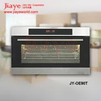 China Stainless steel touch control 85L big capacity side hinge built in oven JY-OE90T on sale
