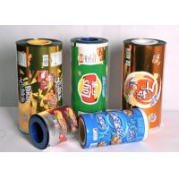 OEM  Food Grade Plastic  Sealing Packaging Stretch Roll Film 80-125 Micron  Aluminum Foil Laminated Roll Films Manufactures