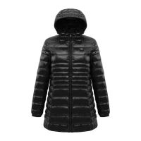 China Usb Heated Down Jacket , 100% Polyester Winter Waterproof Puffer Coat on sale
