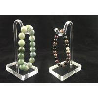 Transparent Custom Acrylic Jewelry Display Stand For Bracelet Hang Manufactures
