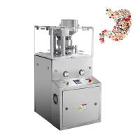 Automatic Lab Mini Rotary Tablet Press Machine / Lab Scale Tablet Press Equipment Manufactures