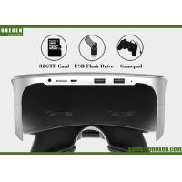 Video Game Virtual Reality Headset , Android 5 .0 WiFi Smart Video Glasses Manufactures
