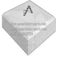 High Quality Make In China Customized Maring Parts Mooring Concrete Block  Anchor Weight 1500 lbs Manufactures