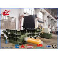 Popular Stainless Steel Scrap Metal Baler , Turn - Out Stype Baling Press Machine 250 Ton Manufactures