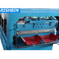 16 - 24 Stations Bemo Roof Panel Roll Forming Machine with 70 mm Roller Manufactures