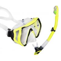 Food Grade Silicone Mask Snorkel Set With Large Vision Lens Custom Module Available Manufactures
