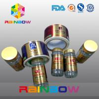 Custom Shrink Sleeve Label Semi Gloss Coated Self Adhesive Label For Jar And Cans Manufactures