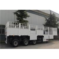 Quality three axles 60ton 50t 40ft trailers and trucks fence semi trailer - CIMC for sale