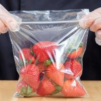 China 6 X 6 Seal Top Plastic Bags , Clear Colour Custom Printed Plastic Food Bags on sale