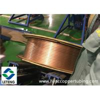 Refrigeration Copper Compression Fittings 0.8 Mm Wall Thick Pancake Copper Tube Coil Manufactures