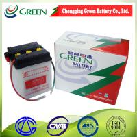 6N4-2A Top quality dry Charged Motorcycle Battery 6V 4AH