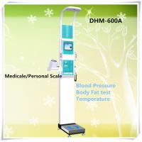 China DHM-600A Fat body balance Stainless Steel Mechanical person Beam Physician weight height Scale on sale