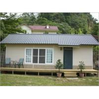 Superior Apartment Movable Prefab House , Small Movable Homes Sandwich Panel Manufactures