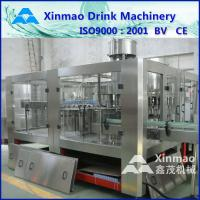 China Sauce PET / Glass Bottle Filling Machine , 3 In 1 Bottling Plant on sale