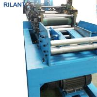 Metal Roof Cold Roll Forming Machine Uncoiler Leveling Notched Cutting Production Line Manufactures