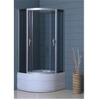 Hotel Luxury Bathroom Shower Cubicles , Custom Glass Shower Enclosures Manufactures