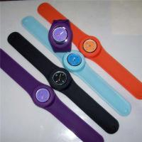 Customized Silicone Wristband Watch Fashionable Slim For Women Manufactures