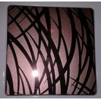China 201/304/316 PVD colored decorative stainless steel sheet plate China supplier on sale