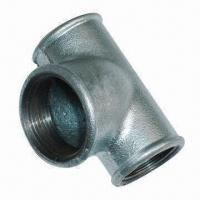 Cast Iron TEE Pipe Fitting in Galvanized, Banded and Beaded Manufactures