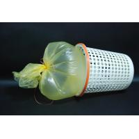 Industrial Black Extra Thick Trash Bags , HDPE Leak Proof Garbage Bags Manufactures