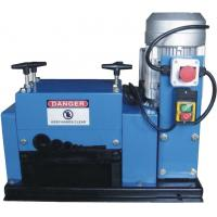China Metal Scrap Cable Stripping Machine , Copper Wire Stripping Machine Double Ball Screw Driving on sale
