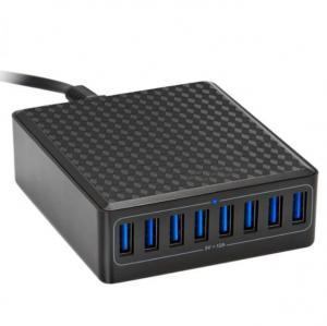 5V12A 5V 2.4A 60W Desktop USB Charger / 8 Port Usb Charging Station Manufactures