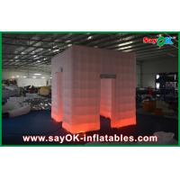 China White Portable Inflatable Photo Booth , Durable Inflatable Party Tent on sale