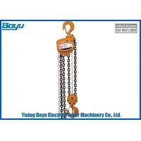 Standard Lifting Height 2.5-3m Capacity 0.5t - 50t Chain Hoist   Lifting Chain Number 1, 2, 4, 8 Manufactures