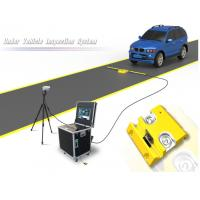 China Portable Under Vehicle Surveillance System With Automatic Digital Line Scan Camera on sale