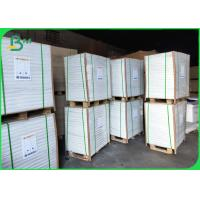 China White 60 / 70 / 80gsm White Release Liner Base Paper For Stickers on sale