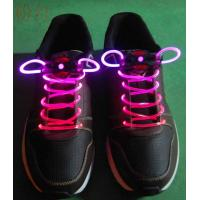 Holiday Blue-Green LED Flash Shoelaces Manufactures