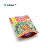 China Creative Stand Up Reusable Laminated Plastic Zipper Packaging Bag For Food on sale