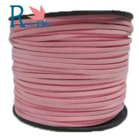 Top quality hot sale 3mm  Faux Flat Suede Leather Cord Manufacturer For Jewelry Making