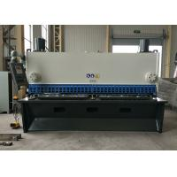 Stable Metal Cutting Shears / DELEM CNC Control Guillotine Steel Cutter for sale