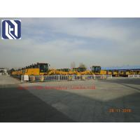 7000kg Payload SHMC GR215 Motor Grader for Road Construction , Yellow , White Manufactures