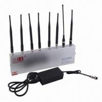 Mobile Phone Signal Jammer | with 8 Omnidirectional Antennas and Effective Radius of 60m Manufactures
