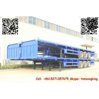 TIC Flatbed container trailer Manufactures