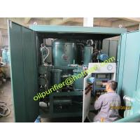 Quality Double-Stage Vacuum Vaporation Type Transformer Oil Purifier, Insulation Oil for sale