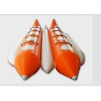 Large Water Rescue 8 Person Flying Inflatable Banana Boat For Adults / Kids Manufactures